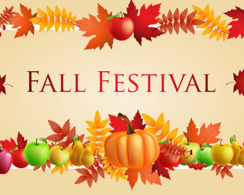 Fall Festival – Saturday November 16th