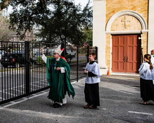 Blessing of our School Security Fence